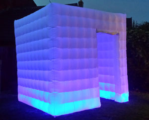 Photo Booth LED Inflatable Booth