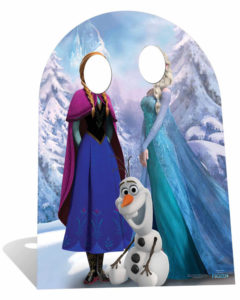 Kids party cut out portsmouth frozen princess