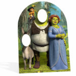 Kids party cut out portsmouth Shrek