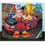 Kids party cut out portsmouth Racing driver
