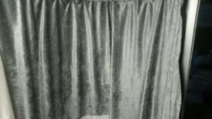 Photo Booth Curtain Silver