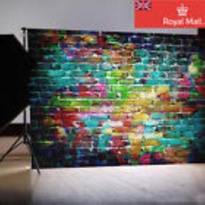 Photo Booth Curtain Grafitti