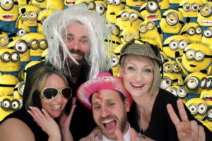 Photo Booth Portsmouth Birthday Minions