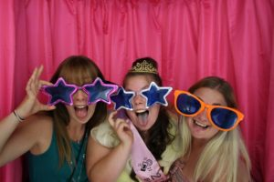 Photo Booth Pink Birthday Waterlooville